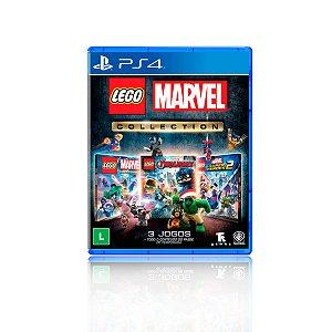 Jogo Game Infantil Lego Marvel Collection - PS4