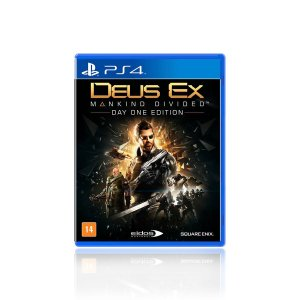 Jogo Game Deus Ex Mankind Divided Day One Edition - PS4