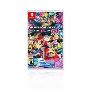 Jogo Game Infantil Mario Kart 8 Delux - Nintendo Switch