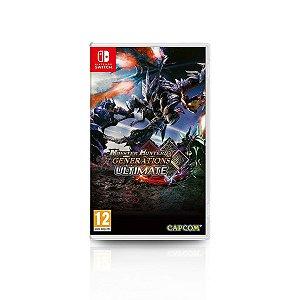 Jogo Game Monster Hunter Generations Ultimate - Nintendo