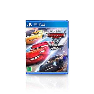 Jogo Game Carros 3 Correndo Para Vencer - PS4