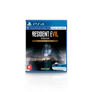 Jogo Game Resident Evil 7 Gold Edition - PS4
