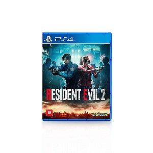 Jogo Game Resident Evil 2 Remake - PS4