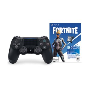 Controle Joystick Ps4 Sem Fio Dualshock 4 Original Jet Black + Fortnite - Sony