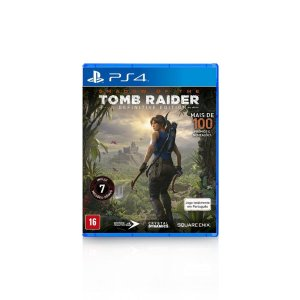 Jogo Game Shadow Of The Tomb Raider Definitive Edition - PS4