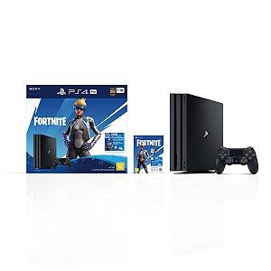 Console Playstation 4 Pro 1 TB Neo Versa Fortnite - Sony