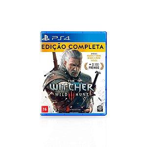 Jogo Game The Witcher 3 Wild Hunt Edição Completa - PS4