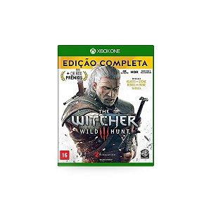 Jogo Game The Witcher 3 Wild Hunt Edição Completa - Xbox One