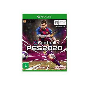 Game Jogo Pro Evolution Soccer PES 2020 Mídia Digital - Xbox One