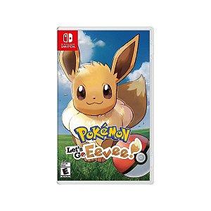 Jogo Game Infantil Pokémon Lets Go Eevee - Nintendo Switch