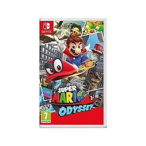 Jogo Game Infantil Super Mario Odyssey - Nintendo Switch