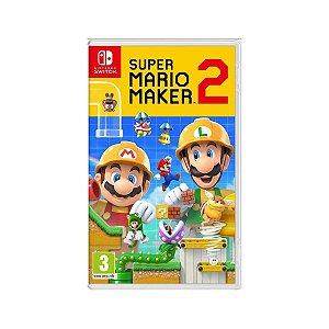 Jogo Game Infantil Super Mario Maker 2 - Nintendo Switch