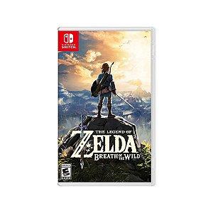 Jogo Game Infantil The Legend Of Zelda Breath Of The Wild - Nintendo Swith
