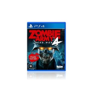 Jogo Game Zombie Army 4 Dead War - Ps4
