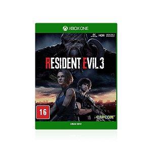 Jogo Game Resident Evil 3 - Xbox One