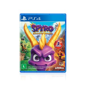 Jogo Game Spyro Reignited Trilogy - PS4