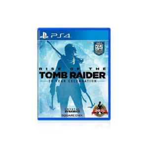 Jogo Game Rise Of The Tomb Raider - Ps4