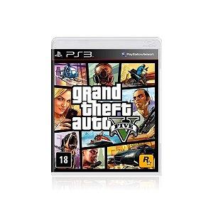 Jogo Game Grand Theft Auto V - Ps3