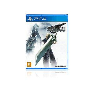 Jogo Game Final Fantasy vii remake - Ps4