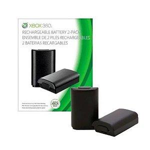 Kit 2 Baterias Recarregaveis Para Xbox 360 - Xbox