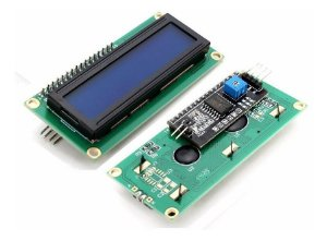 Display LCD 16×2 I2C Backlight Azul