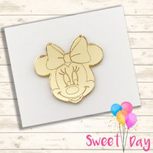 Cabeça Rostinhos da Minnie (10 peças ) 5 cm