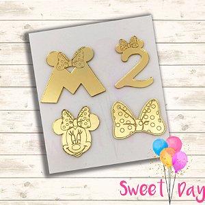 Aplique Kit Minnie (20 peças) 4 cm