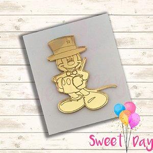 Aplique Mickey Circo (10 peças) 5 cm