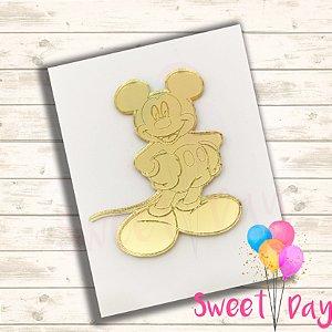 Aplique Mickey (10 peças ) 5 cm