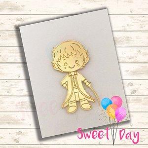 Aplique Pequeno Príncipe (10 peças)  5 cm