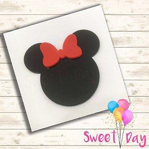 Aplique Minnie (10 peças) 5 cm