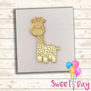 Aplique Girafinha ( 10 peças ) 6 cm