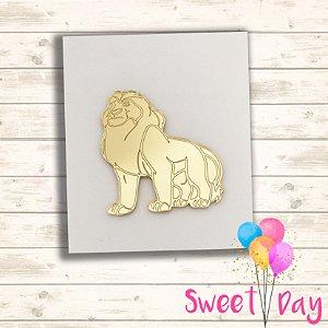 Aplique Rei Leão ( 10 peças)  5 cm