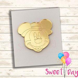 Aplique Mickey Safari ( 10 peças ) 5 cm