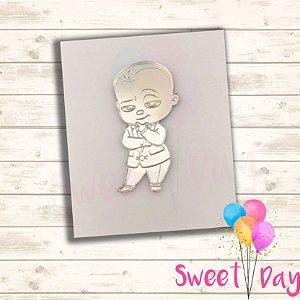 Aplique Baby Boss 5 cm (pacote com 05 peças)