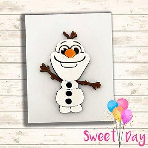 Olaf Frozen acrílico colorido ( 05 peças )