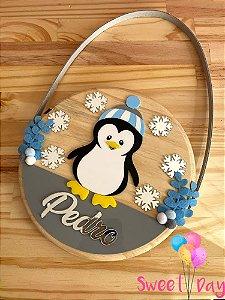 Porta de Maternidade Pinguim 20 cm