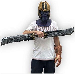 Espada Dupla Thanos 110cm Vingadores Ultimato Cosplay