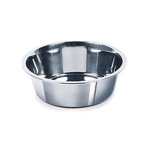 Tigela Chalesco Inox no. 1 Pote Cães e Gatos Alimentação