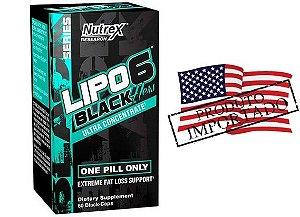 Lipo Hers Black Importado Original EUA 60 Caps Nutrex