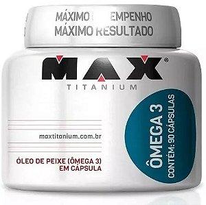 Ômega 3 Óleo De Peixe 90caps Meg3 - Max Titanium