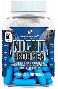 Night Abdomen - 60 Capsulas - Body Action