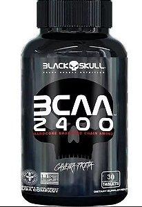 Bcaa 2400 - 30 Tabs - Black Skull