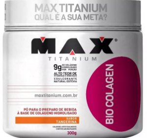 Bio Colagen 300g - Colágeno Em Pó Max Titanium