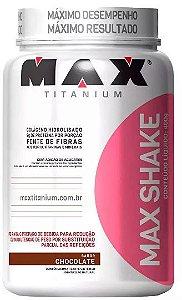 Max Shake Emagrecedor - 400g - Max Titanium - Emagrecer