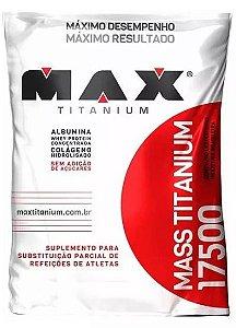 Hipercalórico Mass 17.500 1,4kg - Max Titanium