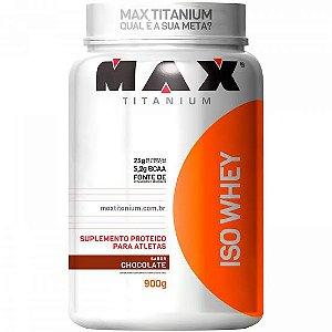 Iso Whey / Whey Isolado 900g - Max Titanium