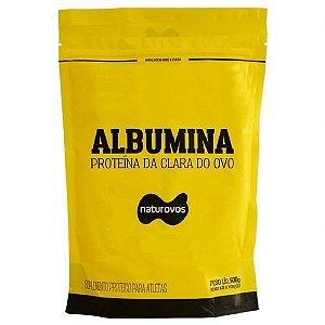 Albumina 500g Naturovos (sabor Natural ) Promoção
