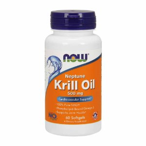 KRILL OIL 500MG - 60 CAPSULAS - NOW FOODS