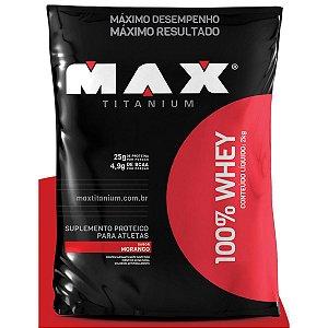 Super Whey Concentrado 900g - Lançamento - Max Titanium